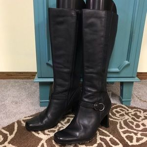 East 5th black boots size 6.5